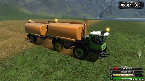 Self Propelled Truck